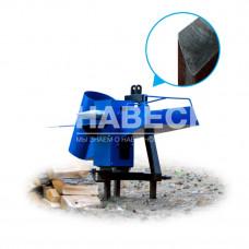 Измельчитель веток с приводом от минитрактора (односторонняя заточка)
